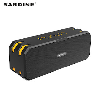 SARDINE F4 BEST OUTDOOR WATERPROOF BLUETOOTH SPEAKER