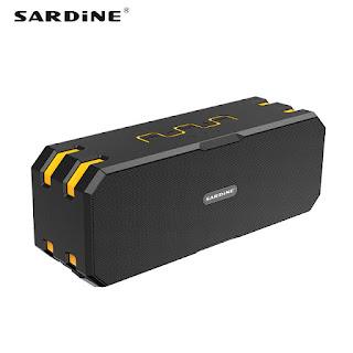 SARDINE F4 BEST OUTDOOR WATERPROOF BLUETOOTH SPEAKER