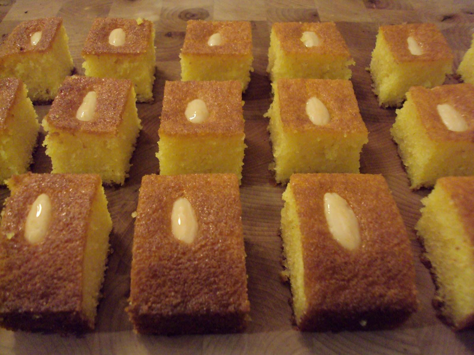 Orange Semolina Cake Nigella