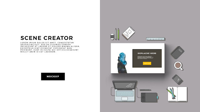 Free Infographic Scene Creator for Powerpoint Template Slide 2