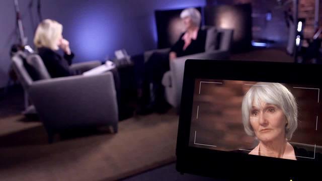 Sue Klebold being interviewed