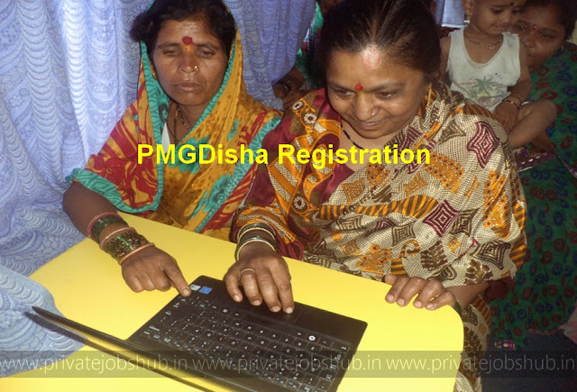 PMGDisha Registration