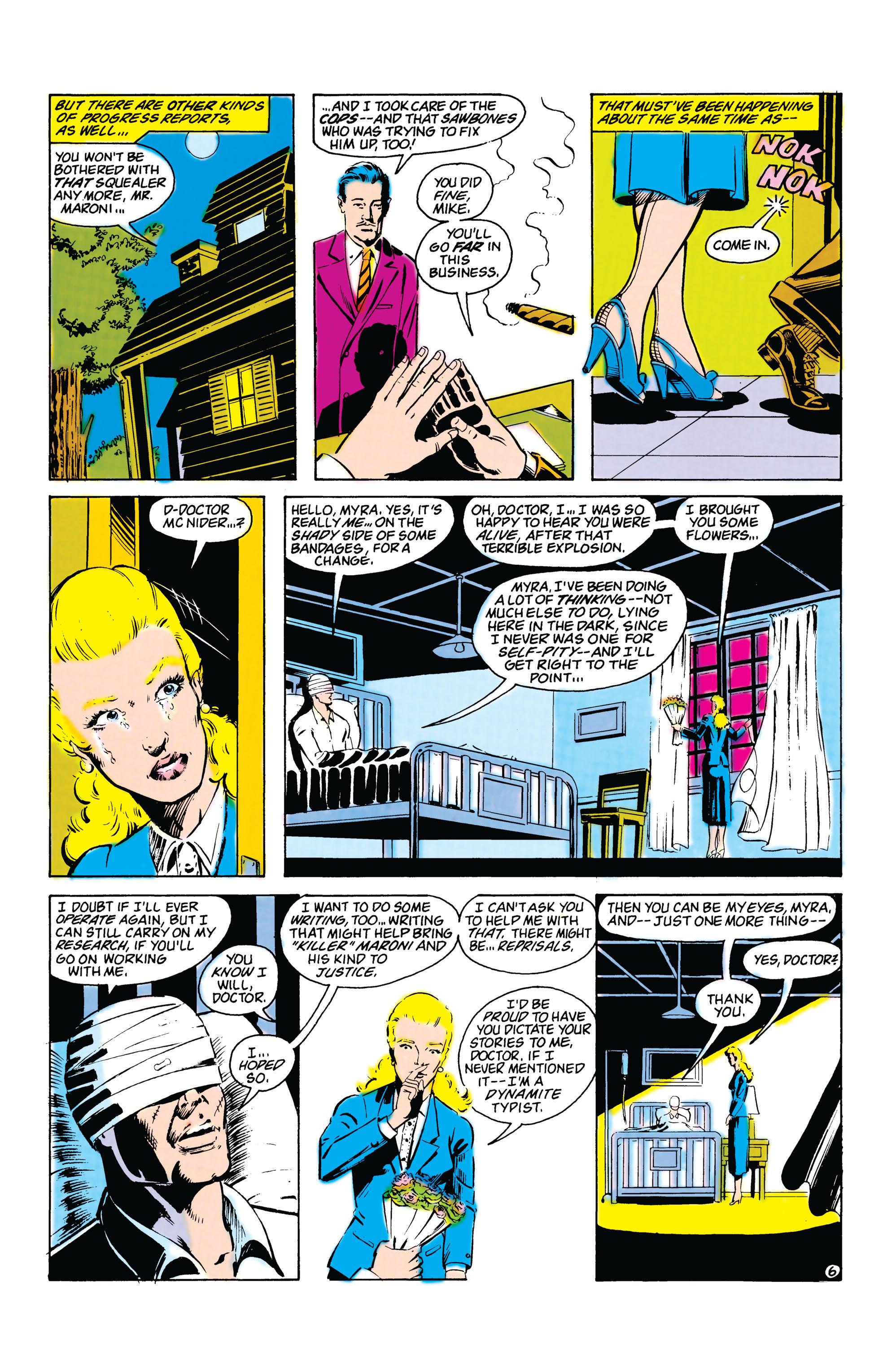 Read online Secret Origins (1986) comic -  Issue #20 - 25
