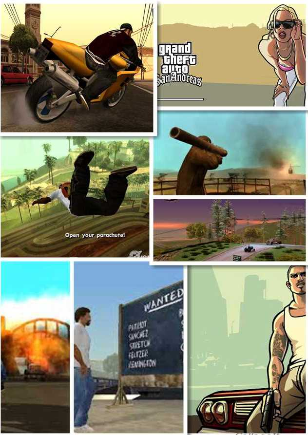 GTA San Andreas Compressed Game Free Download In 600 MB