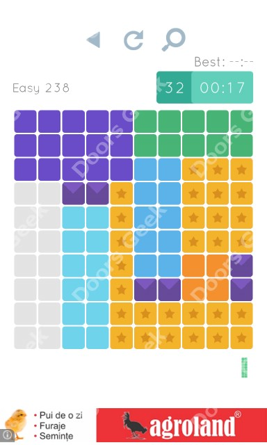 Cheats, Walkthrough for Blocks and Shapes Level 238