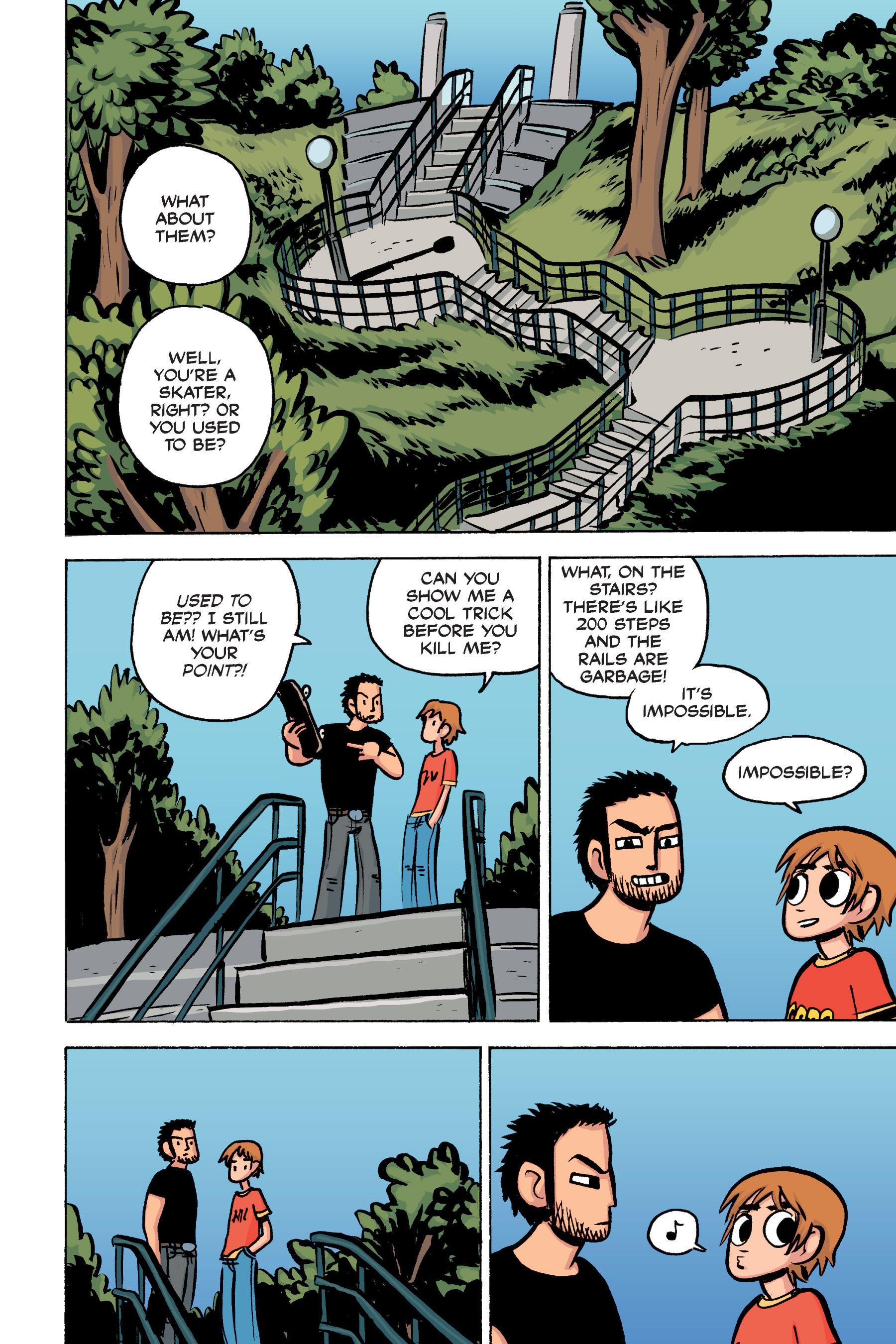Read online Scott Pilgrim comic -  Issue #2 - 117