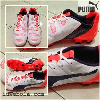 Sepatu Bola Puma Evopower II Putih