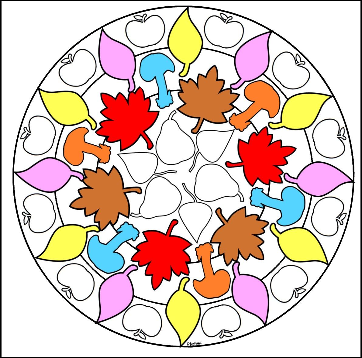 Coloriage Cp Octobre.Decotame Tame Automne Coloriage Magique