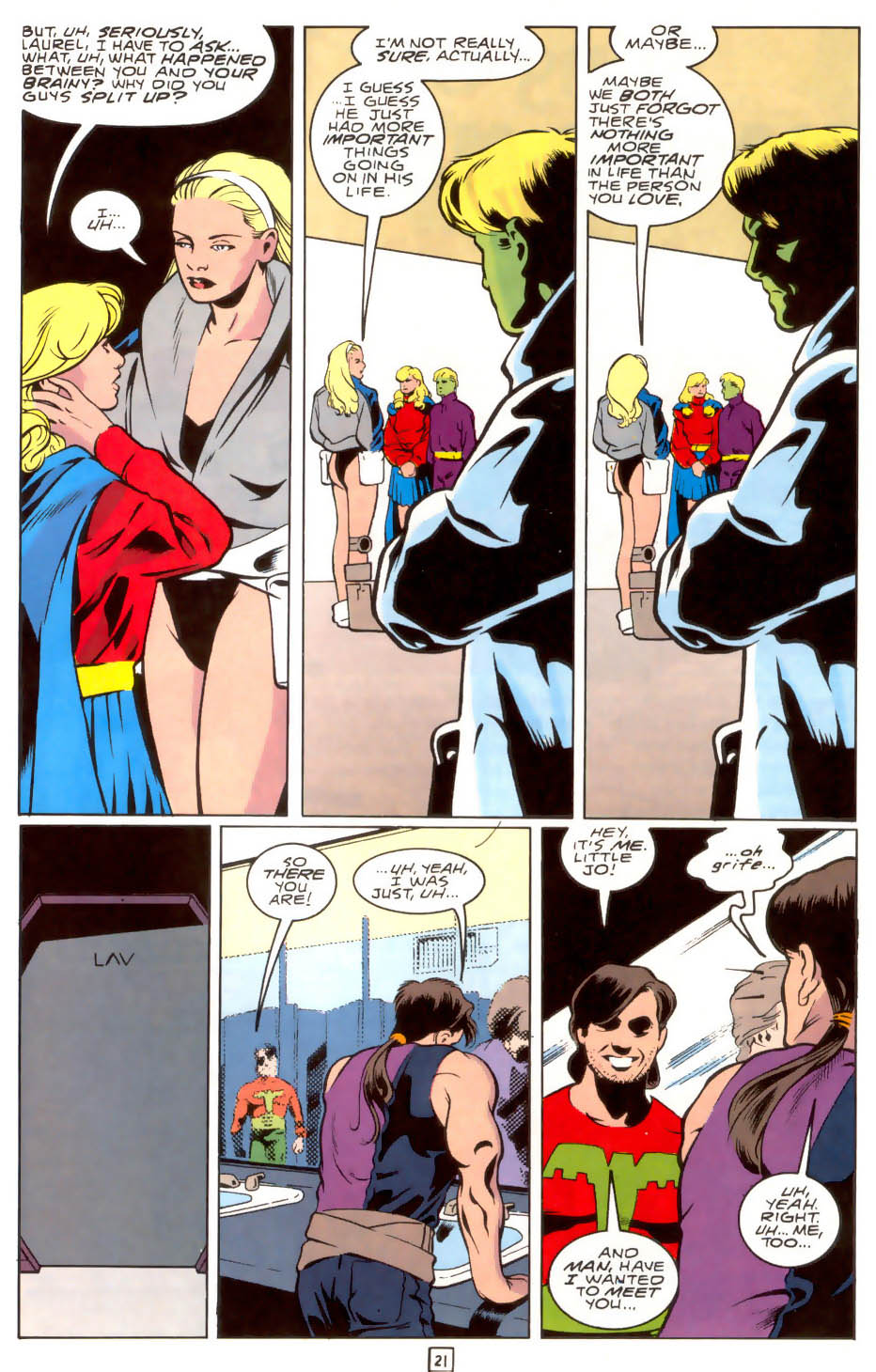 Legion of Super-Heroes (1989) 40 Page 20