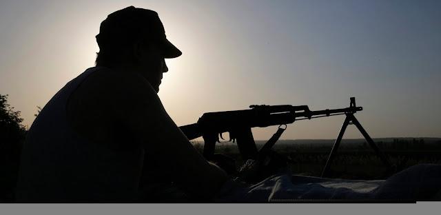 На Донбассе пленен российский боевик
