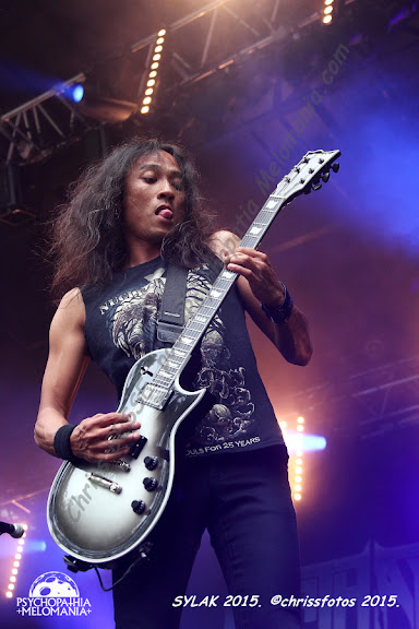 Death Angel @Sylak Open Air #5, Saint-Maurice-de-Gourdans 09/08/2015