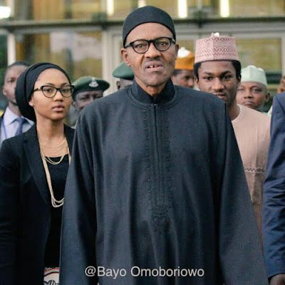 Image result for BUHARI AND HIS CHILDREN