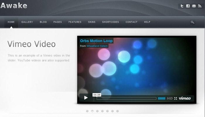 Cara Buka dan Pasang Video Vimeo ke dalam Blog