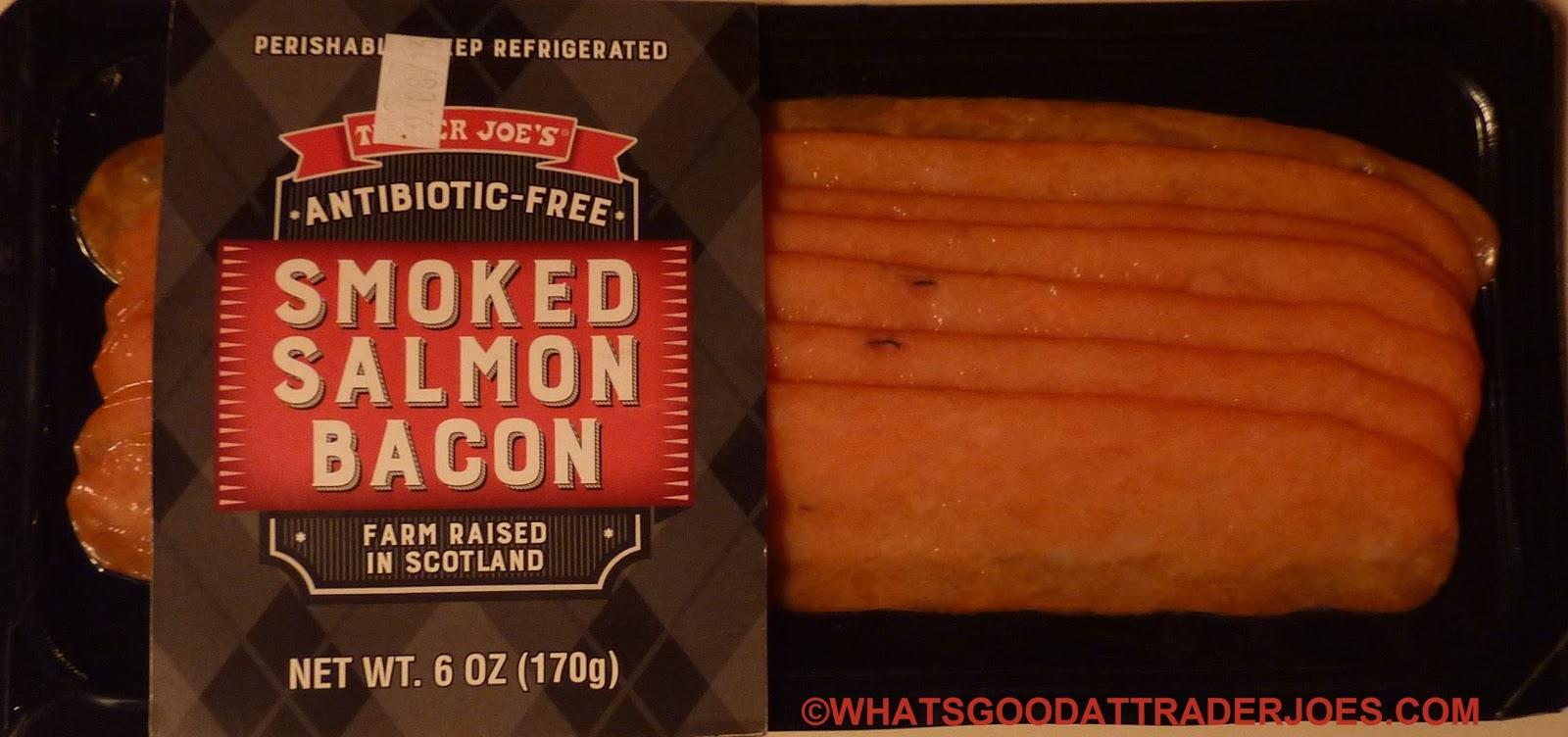 What 39 s good at trader joe 39 s trader joe 39 s smoked salmon bacon for Trader joe s fish