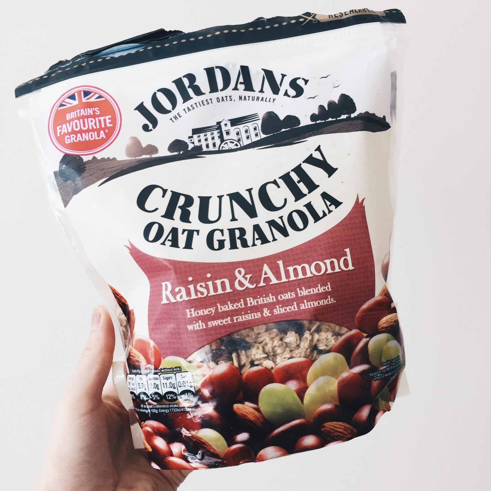 Jordans Raisin and Almond Granola Review