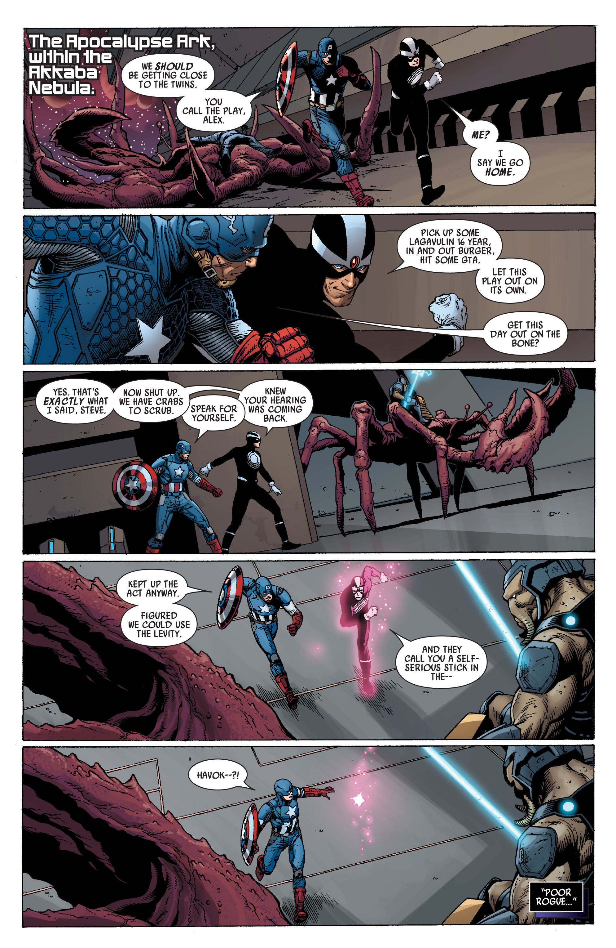 Read online Uncanny Avengers (2012) comic -  Issue #15 - 3