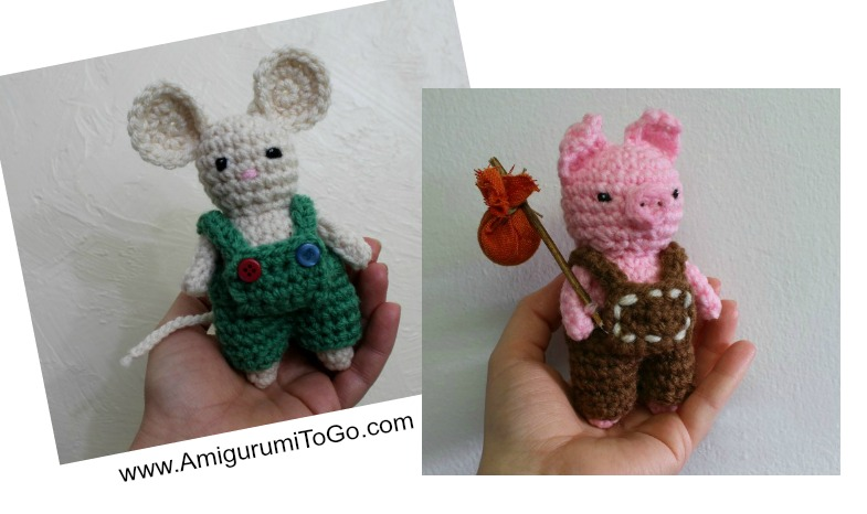 How To Video For Tiny Overalls ~ Amigurumi To Go