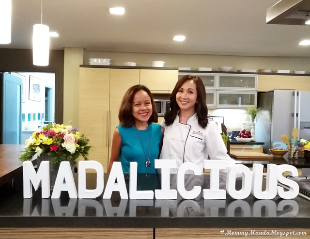 with Chef Llena Tan-Arcenas