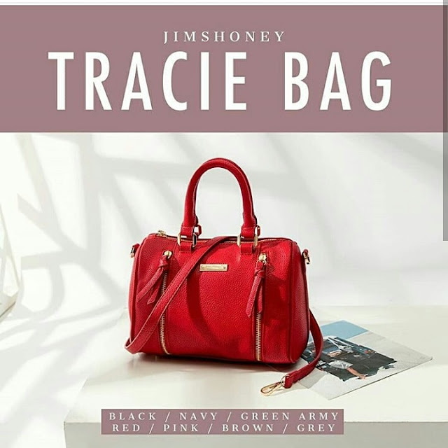 Jims Honey Tracie Bag Red