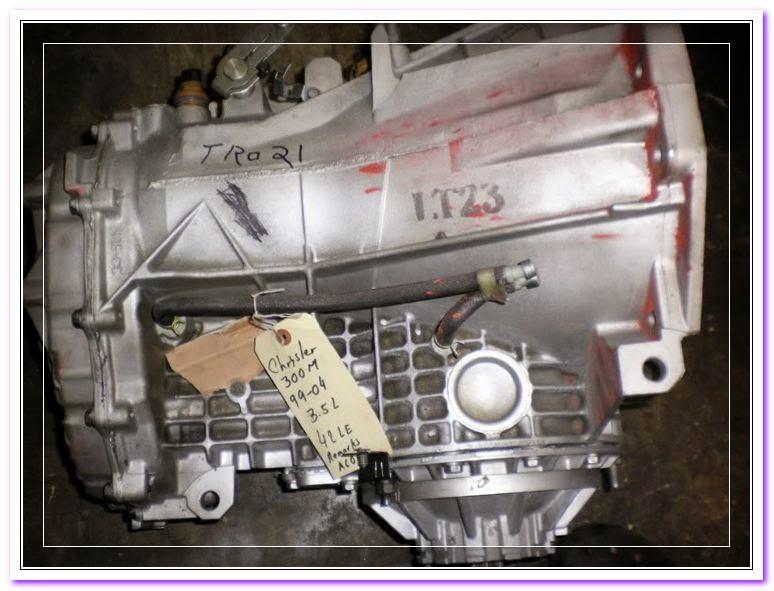 Chrysler M Transmission