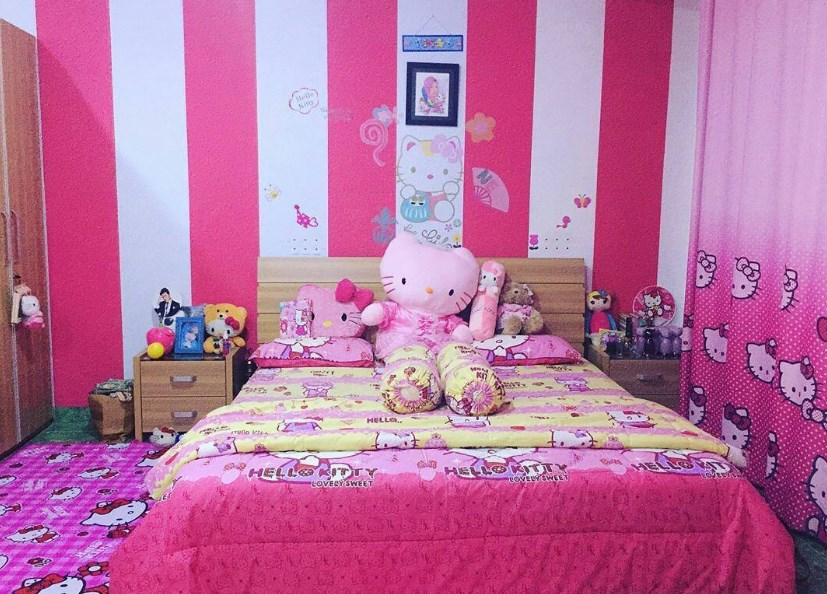 87+ Model Kamar Full Hello Kitty Kekinian
