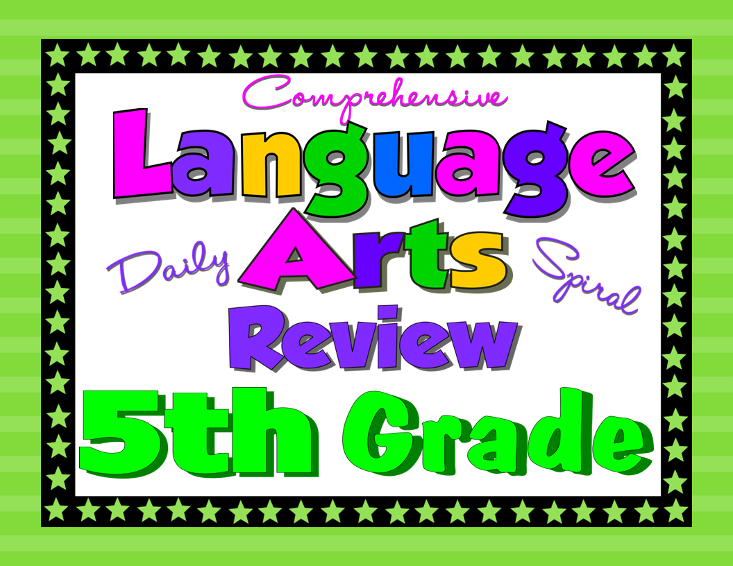 hight resolution of Writing the Fifth Grade Daily Language Review - Rosie's Resources