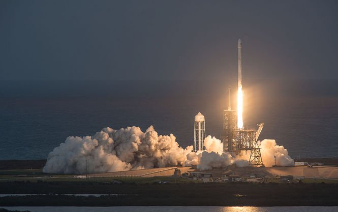 Старт Falcon 9