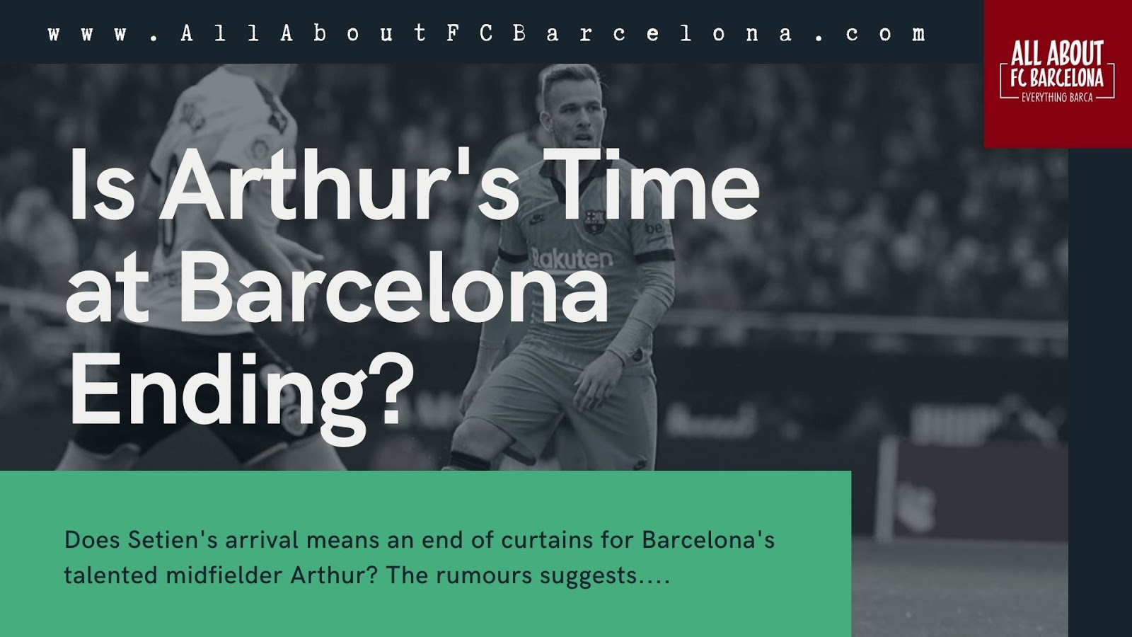 3 Reasons Why Arthur will be Sold by Barcelona in the Summer? #Barca #FCBarcelona #Arthur