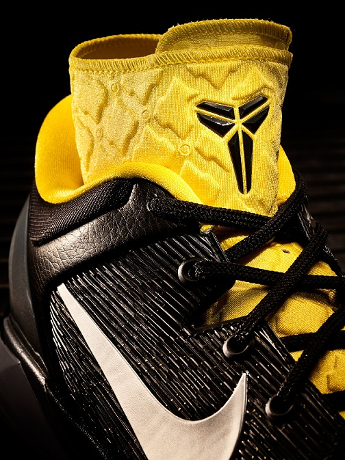 best website 1063c 3f192 The Nike Kobe VII System Supreme is a performance system allowing players  to customize the shoe, switching ankle support and midfoot cushioning.