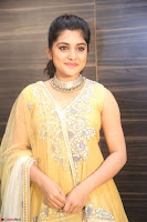 Nivetha Thamos in bright yellow dress at Ninnu Kori pre release function ~  Exclusive (63).JPG
