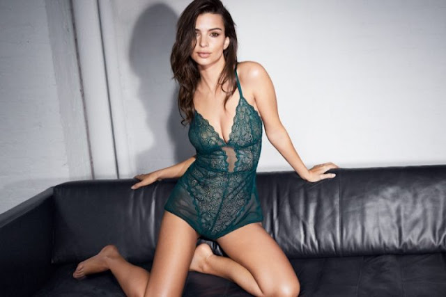 Emily Ratajkowski for DKNY Intimates Fall/Winter Latest