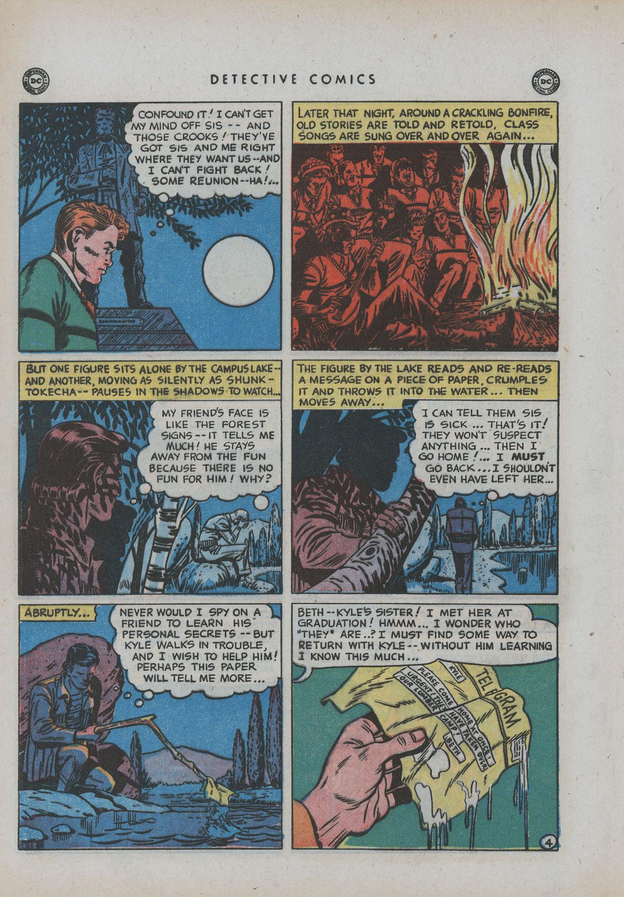 Read online Detective Comics (1937) comic -  Issue #154 - 42