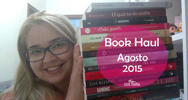 [Book Haul] Agosto de 2015