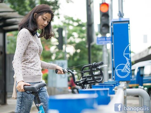 Wisata Bersepeda di Kota Bandung dengan Smart Bike Sharing