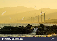 Burgos wind farm, Burgos, Ilocos Norte, Philippines. (palpalokada-december-2012-6-M2KM0FCredit: 500px / Alamy Stock Photo) Click to Enlarge.