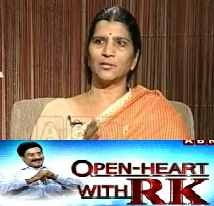 Laxmi Parvathi in Open Heart with RK