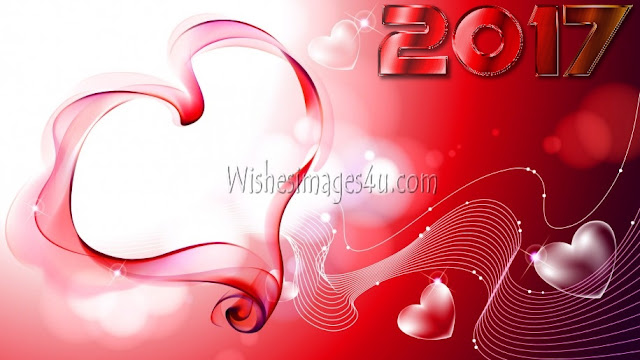 New Year 2017 Love Wishes Pics Download