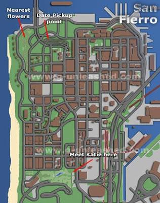 Peta lokasi Katie Zhan