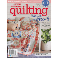 new July-Aug 2018 American Patchwork & Quilting(click!)