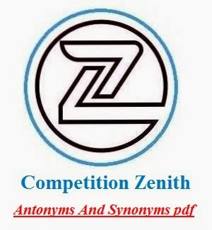 Competition Zenith Synonyms And Antonyms