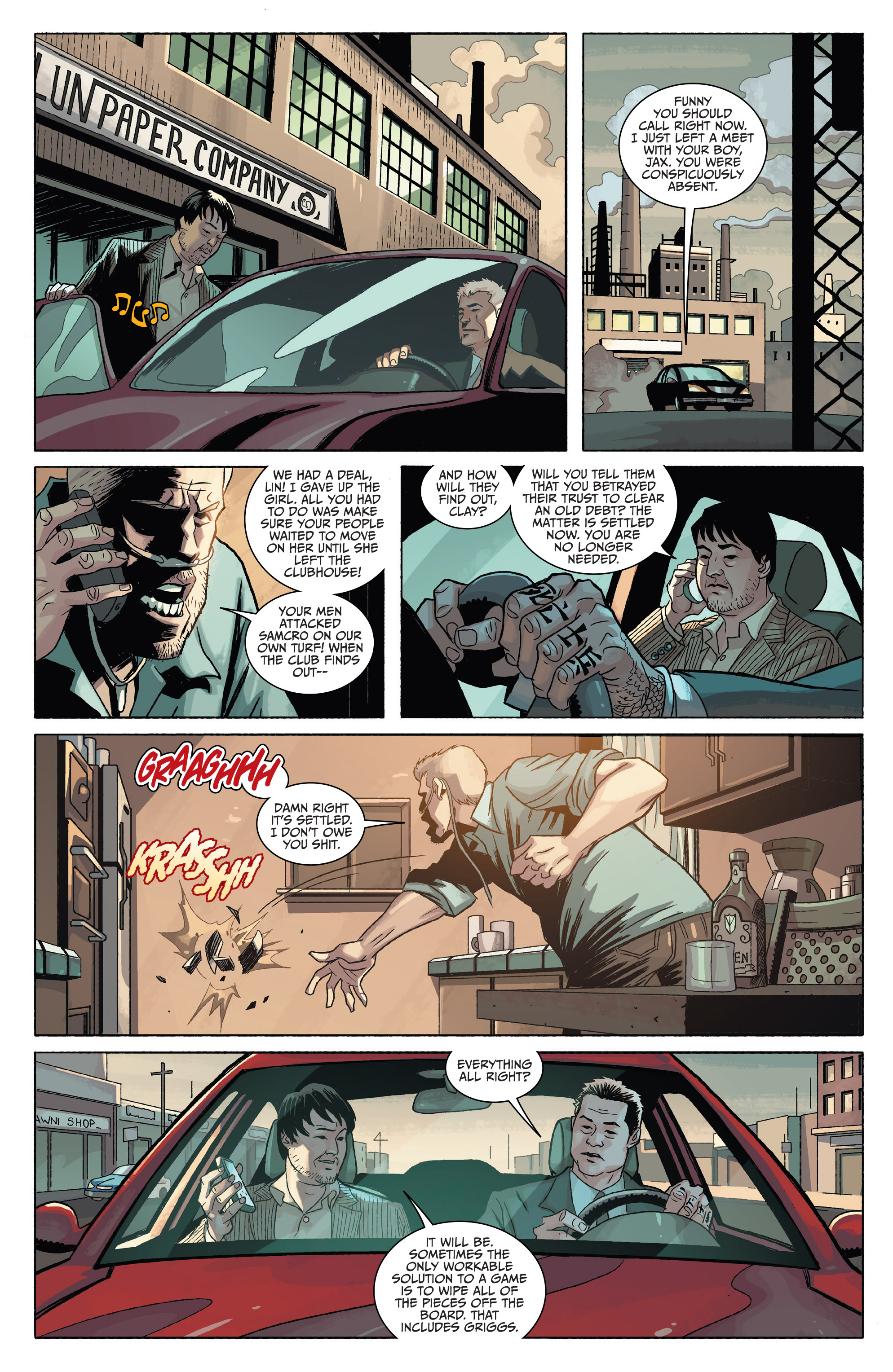 Read online Sons of Anarchy comic -  Issue #4 - 13