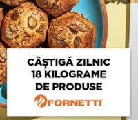 Castiga zilnic 18kg de produse Fornetti - kiss - fm - concurs - castiga.net