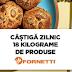 Castiga zilnic 18kg de produse Fornetti