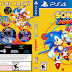 Capa Sonic Mania PS4