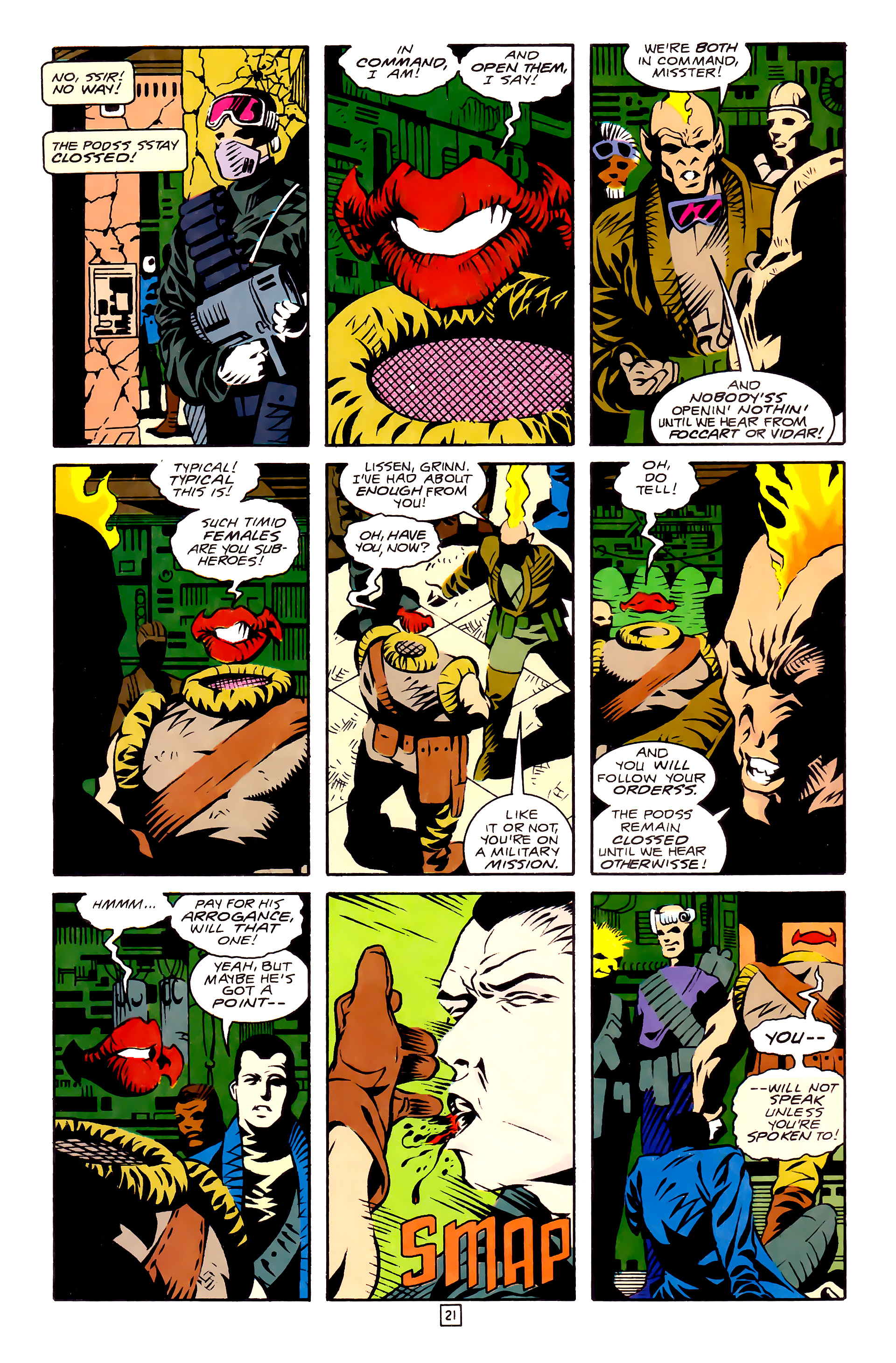 Legion of Super-Heroes (1989) 27 Page 21