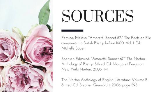 sonnet 81 by edmund spenser analysis Edmund spenser sonnet 75  sonnet 75 - edmund spenser one day i wrote her name upon the strand  stanza by stanza analysis.