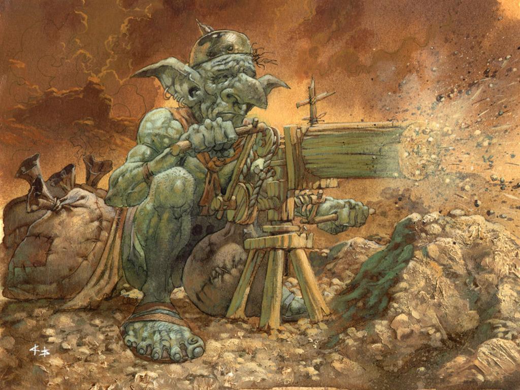 Kleberusx orcs goblins wallpapers - Hobgoblin wallpaper ...
