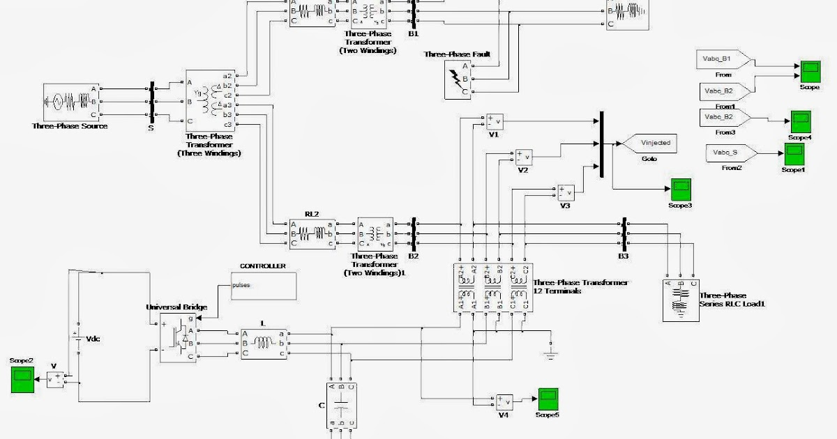MATLAB Electrical IEEE +917207560923: COMPENSATION OF SAGS