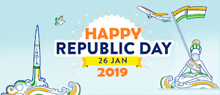 HAPPY INDIAN REPUBLIC DAY 26th January 2019 70th Celebration