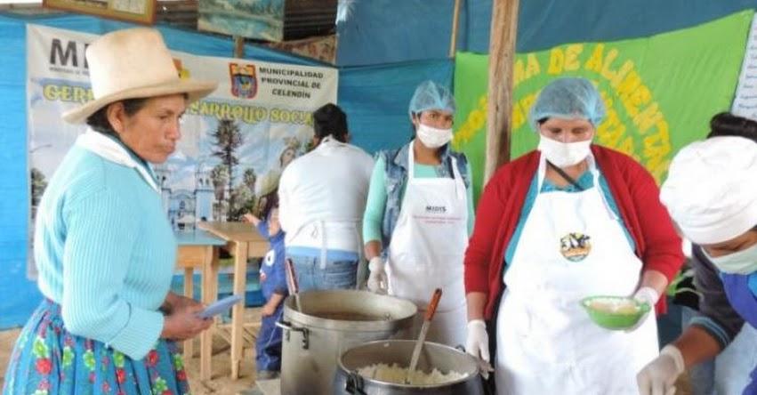Comedor popular en Cajamarca adopta buenas prácticas de preparación y almacenamiento de alimentos de Midis Qali Warma - www.qaliwarma.gob.pe